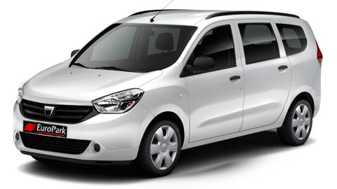 Dacia Lodgy Dizel 7 kişilik